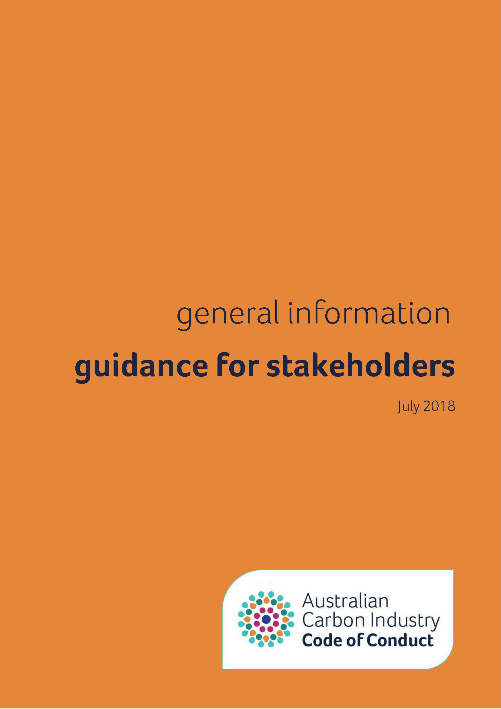 Code of Conduct   Australia's Carbon Marketplace